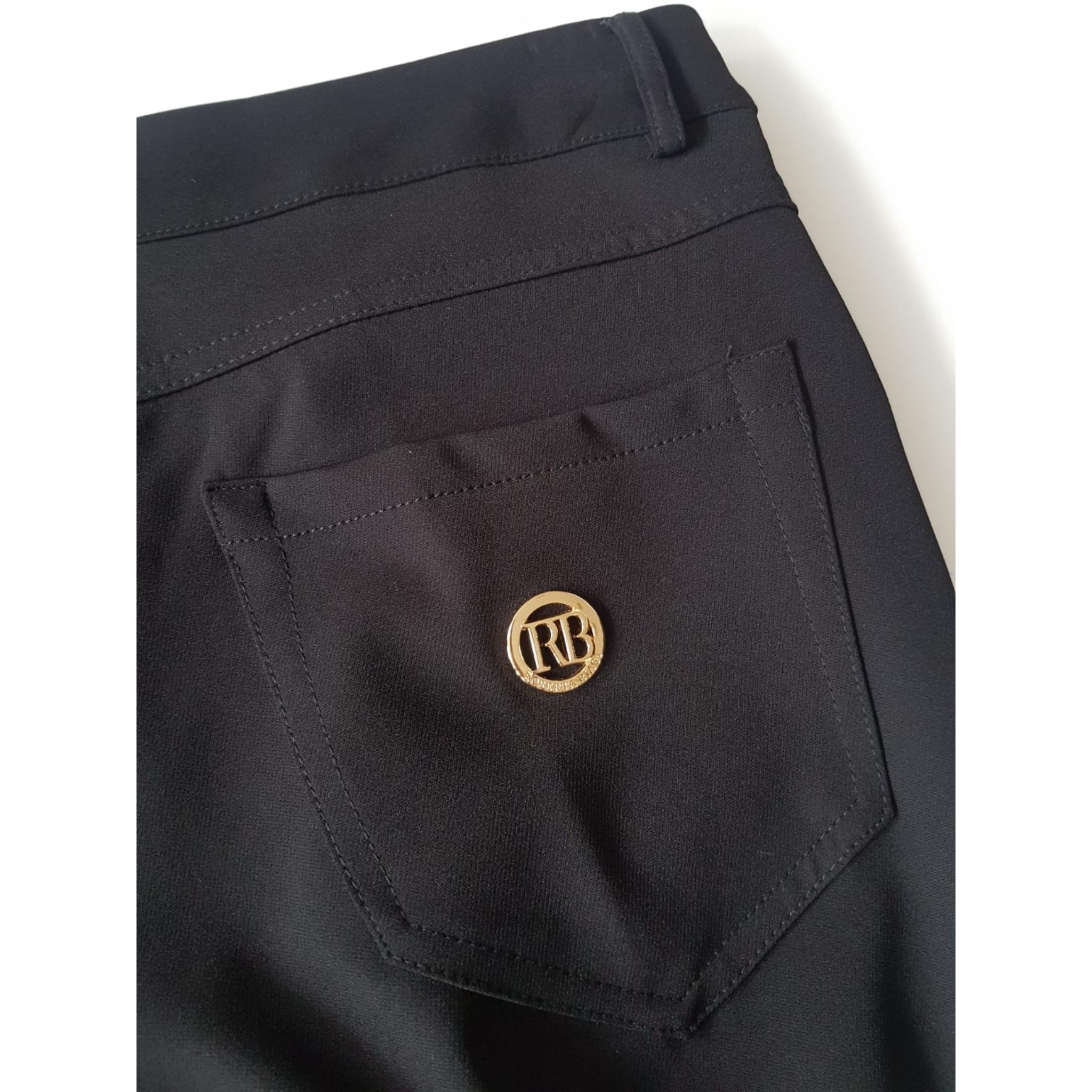 low priced f1108 96d24 Nohavice čierne elegantné Roberta Biagi